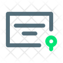 Certificate Legal Note Icon