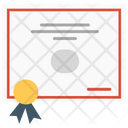 Certificate Diploma Certification Icon
