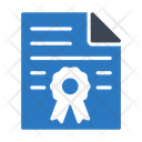 Certificate Degree Document Icon