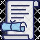 Certificate Decree Decree In Cpc Icon