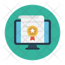 Certificate Degree Online Icon