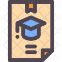 Diploma University Education Icon