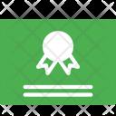 Certificate Achivement Document Icon