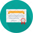 Certificate Business Tools Icon