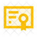 Certificate Charter B Icon