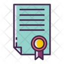 Icertificate Certificate Degree Icon