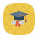 Certificate Medal Identity Icon