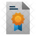 Certificate Graduate Education Icon