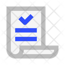 Certificate Charter Icon
