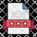 Certificate Degree File Icon