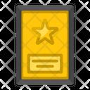 Certificate Champion Prize Icon