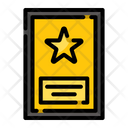 Certificate Champion Prize Icon
