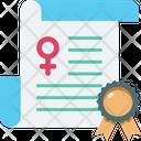 Cultures Declaration Document Icon