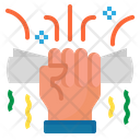 Diploma Hand Certificate Icon
