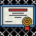 Certificate Winner Certification Icon