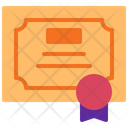 Certificate Certification Award Icon