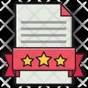Degree Document File Icon