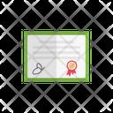 Certificate Degree Document Icon