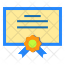 Certificate Office School Icon