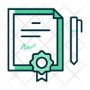 Certificate Science Chemical Icon