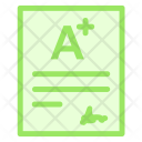 Certificate Education Result Icon