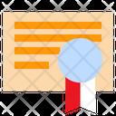Certificate Reward Ribbon Icon