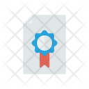 Certificate Achivement Approved Icon