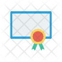 Certificate Approved Degree Icon