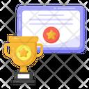 Certificate Achievement Certificate Degree Icon