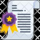 Certificate Sports Certificate Achievement Icon