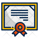 Certificate Quality Award Icon