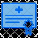 Certificate Veterinary Degree Icon