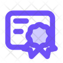 Certificate Achievement Certification Icon