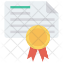Certificate Degree Approved Icon