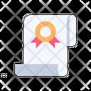 Certificate Skill Diploma Icon