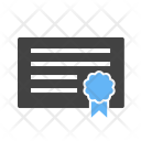 Certificate Degree Icon