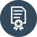 Agreement Certificate Contract Icon