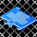 Certificate Isometric Icon