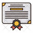 Certificate Legal Document Icon