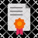 Certificate Award Reward Icon