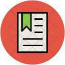 Certificate Degree Deed Icon