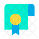 Document Certification Degree Icon