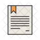 Certificate Document Rules Icon