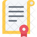 Certificate Analysis Business Icon
