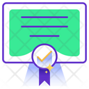 Certificate Approved Icon