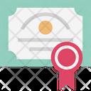 Certificate  C Icon