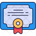Certification Certificate Certificates Icon