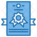 Certification Document Email Icon