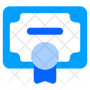Certification Certificate Degree Icon