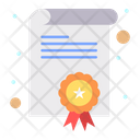 Certification Degree Diploma Icon